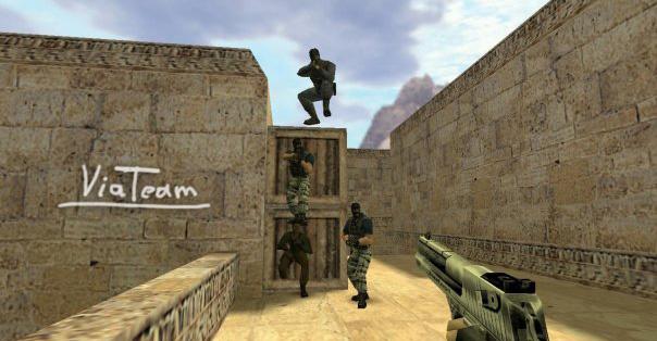 Команда ViaTeam по игре Counter-Strike 1.6, 2009 год.